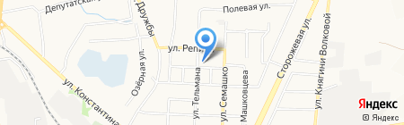 Болхов на карте Белгорода