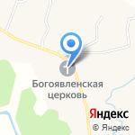Богоявленский храм на карте Белгорода