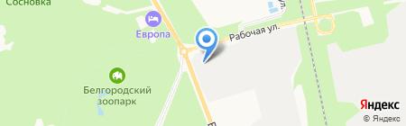 Rokse на карте Белгорода