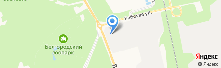 Рефком-Белгород на карте Белгорода