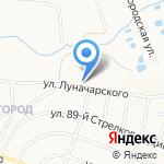 Авоська на карте Белгорода