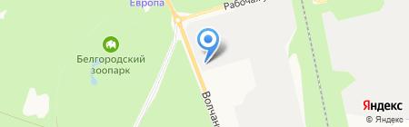 Идеал-Авто на карте Белгорода