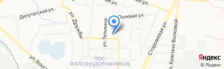 Средняя общеобразовательная школа №18 на карте Белгорода