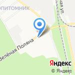 Бупак на карте Белгорода