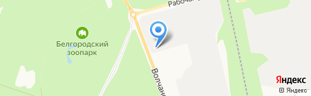 Идеал-Автоломбард на карте Белгорода
