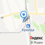 Специализированная часть №5 по тушению крупных пожаров г. Белгорода на карте Белгорода