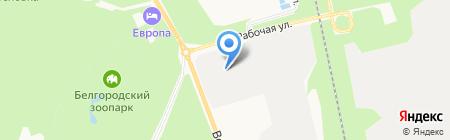 БЕЛГОРОДСКИЙ ЗАВОД ФРЕЗ на карте Белгорода