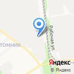 Деликос на карте Белгорода