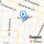 Участковый пункт полиции №20 на карте Белгорода