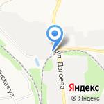 ЖелДорЭкспедиция на карте Белгорода