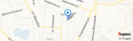 Автоателье на ул. Семашко на карте Белгорода