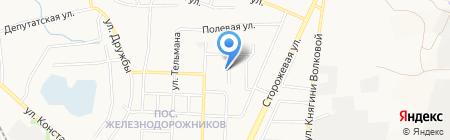 Парус на карте Белгорода