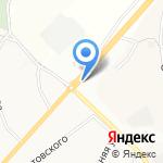 Натус на карте Белгорода