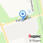 Ивица на карте Белгорода