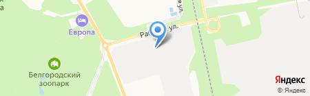 СВИЛИЯ Автотранс на карте Белгорода