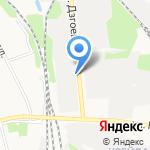 Белгородский хладокомбинат на карте Белгорода