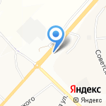 Парадиз на карте Белгорода