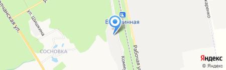 Деловые Линии на карте Белгорода