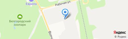 БСК-Белгород на карте Белгорода