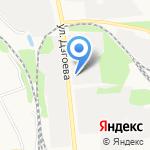 Калидон на карте Белгорода