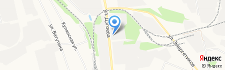 АВТОКАРД на карте Белгорода