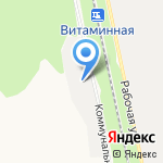 Слобожанский мыловар на карте Белгорода