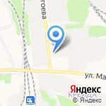 Паркет дизайн на карте Белгорода