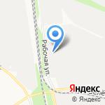 Автомост на карте Белгорода