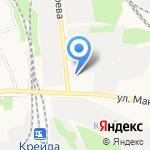 Служба аварийных комиссаров на карте Белгорода