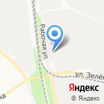 Трансклимат на карте Белгорода