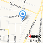 Стрелец на карте Белгорода