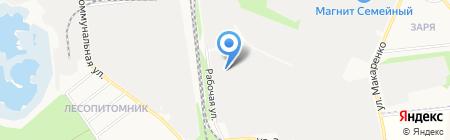 Интерстекло на карте Белгорода
