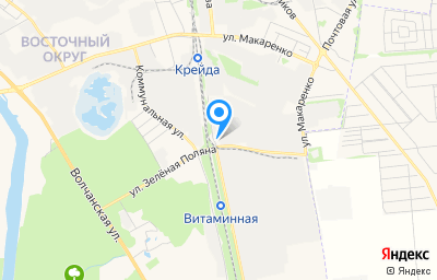 Местоположение на карте пункта техосмотра по адресу г Белгород, ул Зеленая Поляна, д 2А