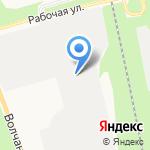Белгородский складской комплекс на карте Белгорода