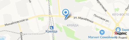 ГОСТ на карте Белгорода