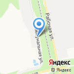 Литросна на карте Белгорода