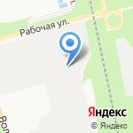 Интелл-Сервис на карте Белгорода