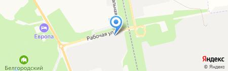 Строительное управление №5 на карте Белгорода