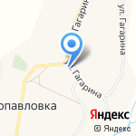 Петропавловский сельский клуб на карте Белгорода