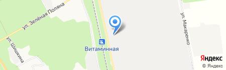 Планета на карте Белгорода