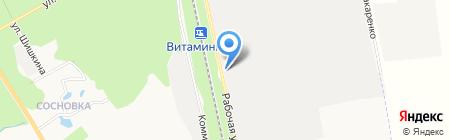 АРМ Комплекс Снаб на карте Белгорода