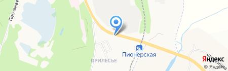 Автомойка на Волчанской на карте Белгорода