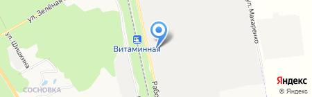 Технотрейд на карте Белгорода