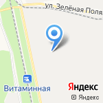 Завод Энергоцветмет на карте Белгорода