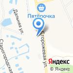 Белгород Резинотехника на карте Белгорода
