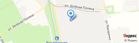 Графика-Мебель на карте Белгорода
