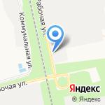 Русские бани на карте Белгорода