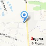 СТФК КАМАЗ на карте Белгорода
