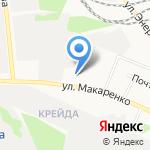 Славянка на карте Белгорода