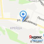 Библиотека №18 на карте Белгорода